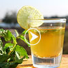 Lemon mint tea