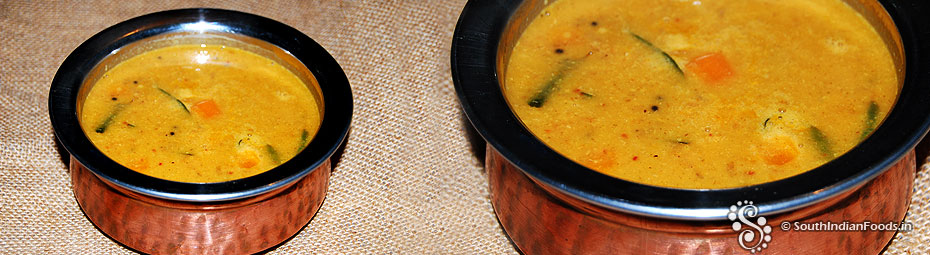 Sambar without dal Instant sambar for idli, dosa and rice