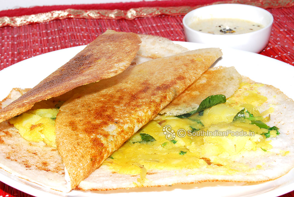 Masala dosa recipe south indian special dosai with potato filling masala dosa recipe forumfinder Gallery