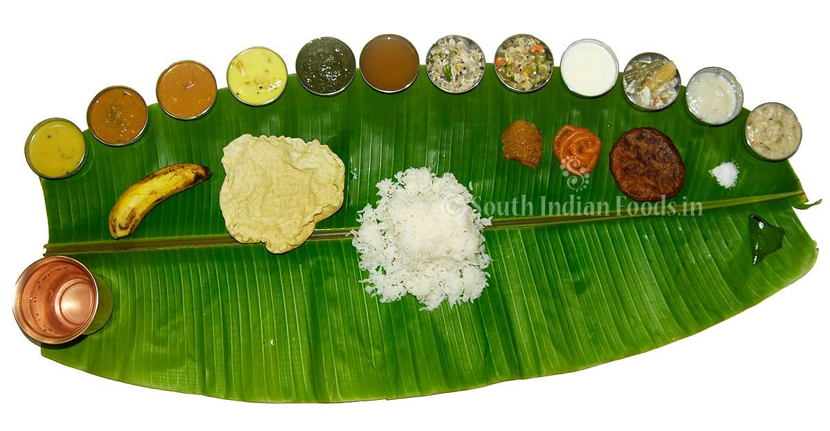 Tamilnadu Plantain Leaf Meals