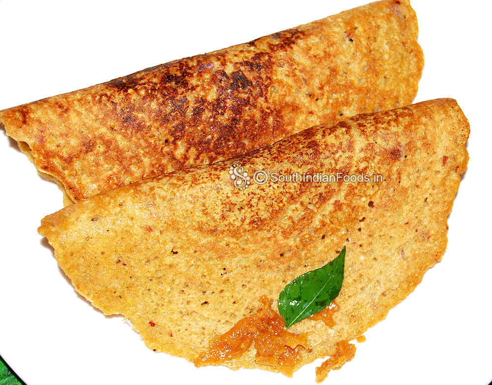 Thinai adai foxtail millet adai dosa how to make step by step photos cuisine style ancient tamil nadu south india preparation cooking time 15 minutes to serve 2 type breakfast dinner weight loss easy diabetic forumfinder Images
