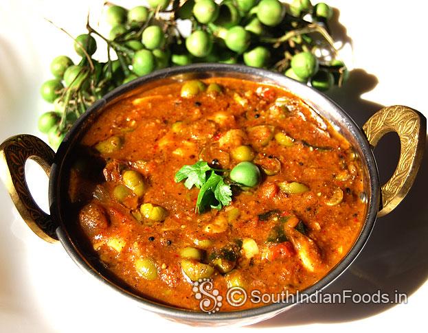 Sundakkai palakottai kara kuzhambu | Turkey berry Jackfruit seeds  curry-Step by step photos & Video