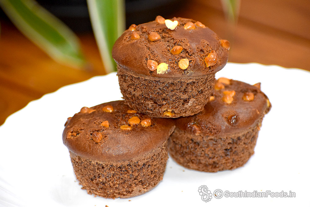 Chocolate yogurt muffins -Pressure cooker method [Without ...