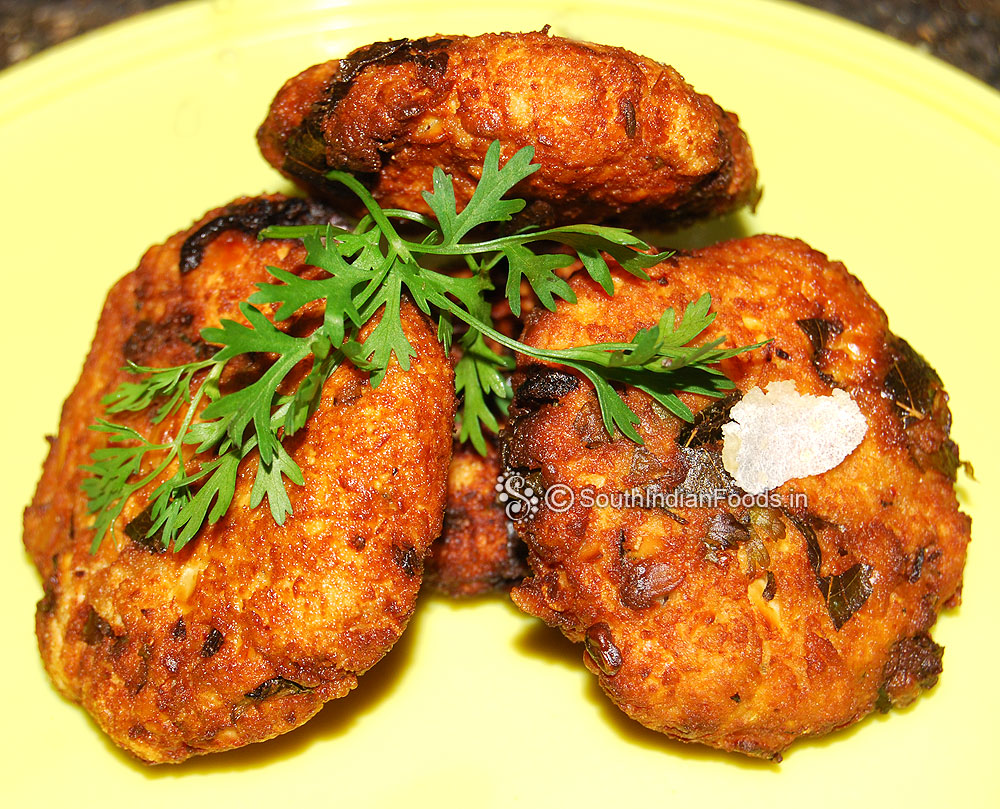 Poha vada | Aval vadai | Flattened rice vada